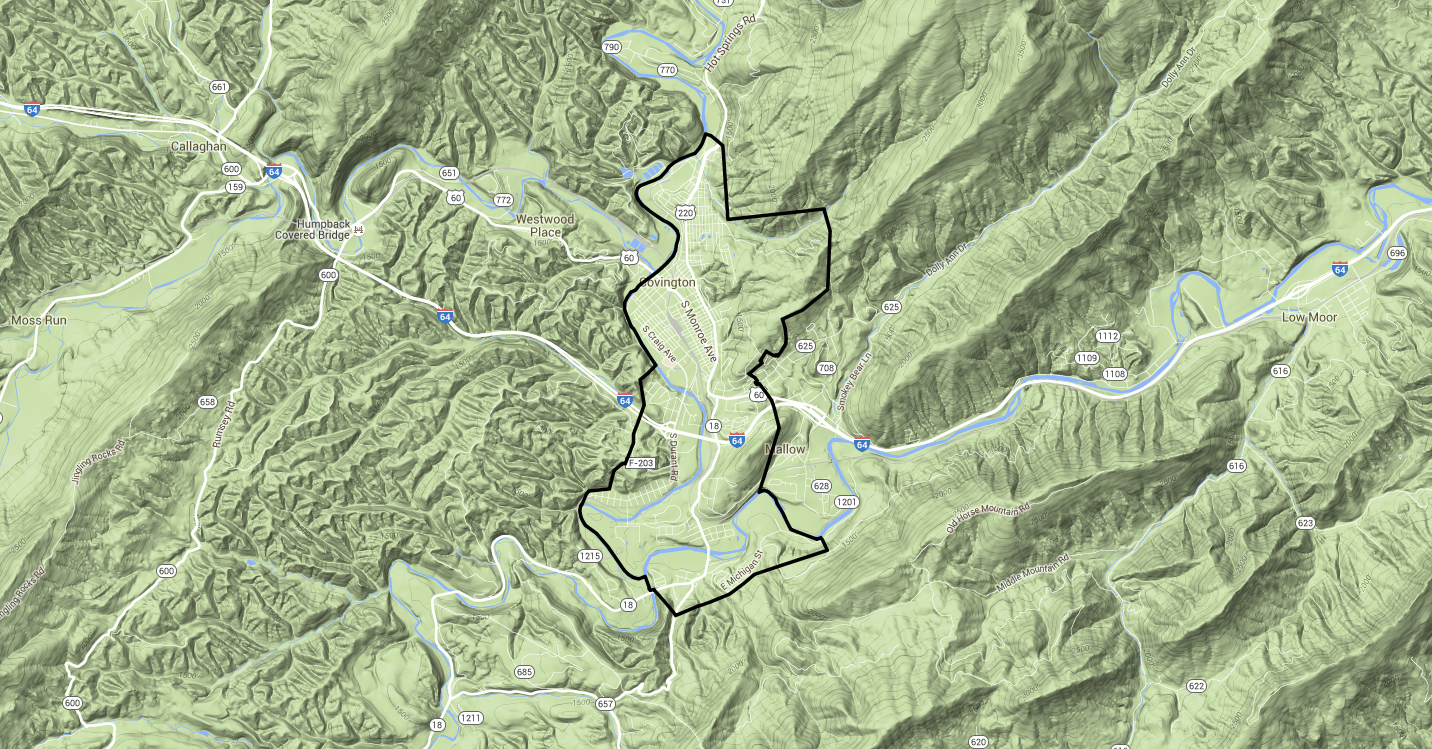 GIS Maps - Covington City