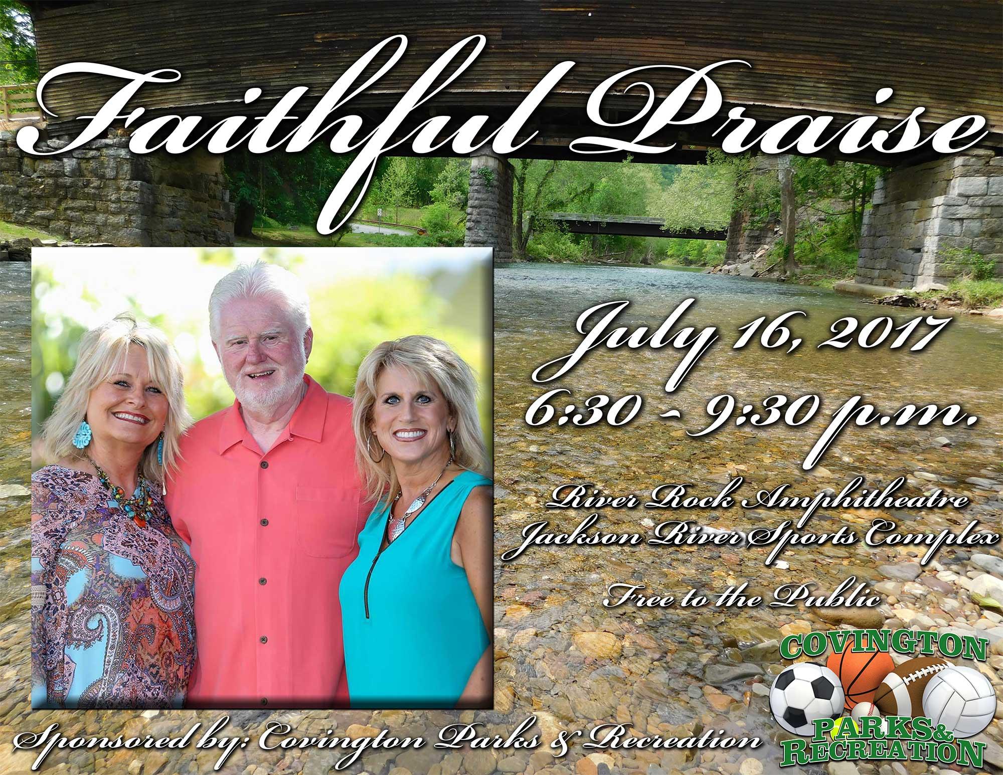 Faithful Praise July 16