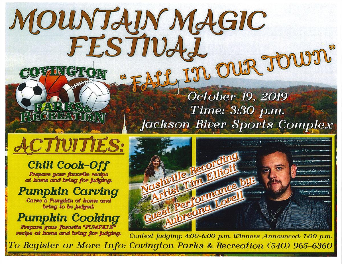 Mountain magic festival