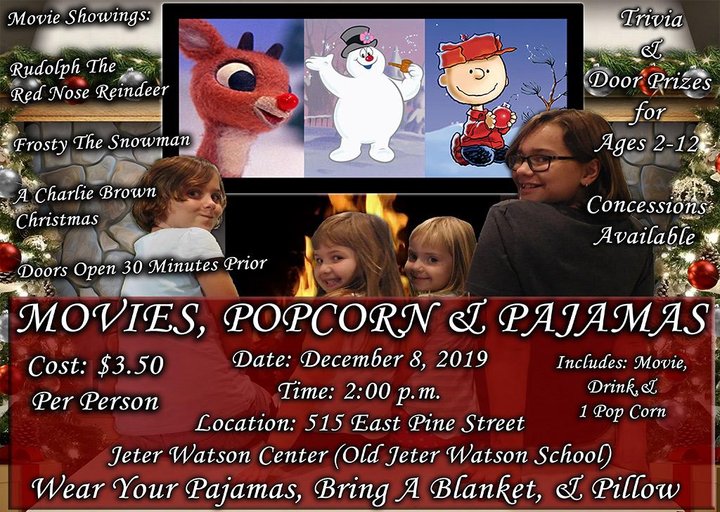 Movies,Popcorn & Pajamas
