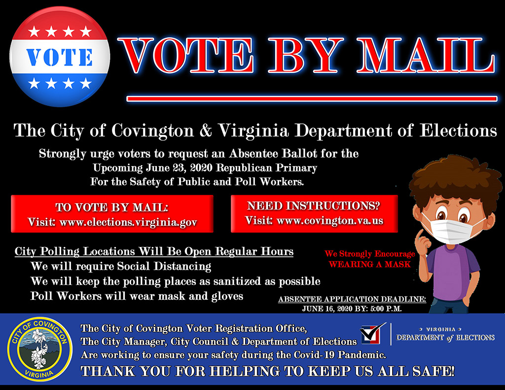 Vote By Mail Flyer