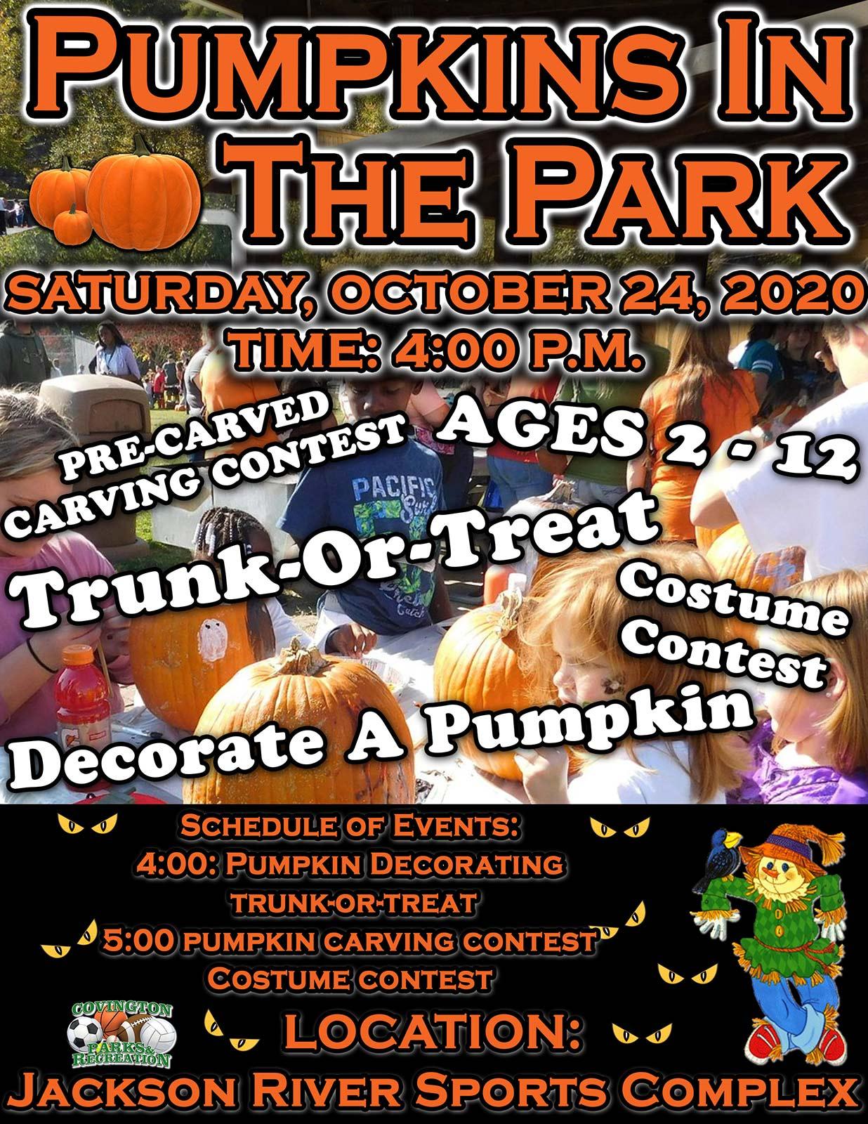 Pumpkins In The Park2020