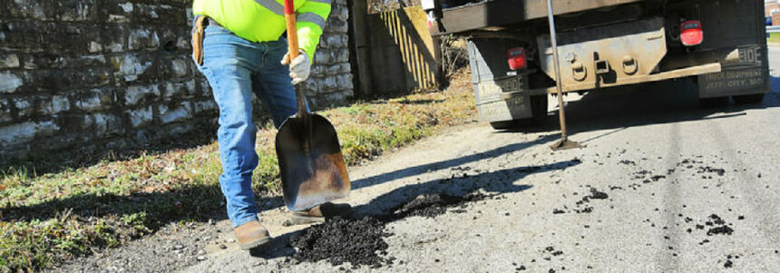 THE CITY OF COVINGTON'S POT HOLE BLITZ