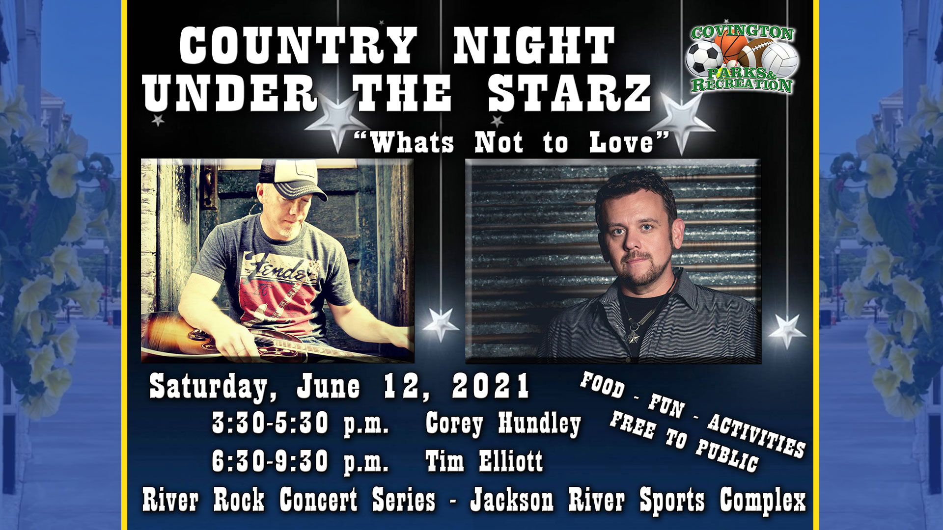 Country Night Under The Starz June 12